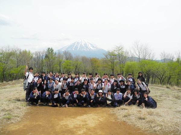 2019中2足和田山登山