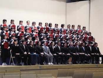 2020中学卒業式
