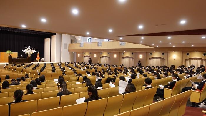 2021高校入学式