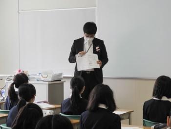 2021中学入学式